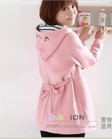 Женские толстовки и Кофты Newest Maternity hoodies, pregnant women winter warm cute coat, pregnant woman pink pullover M L