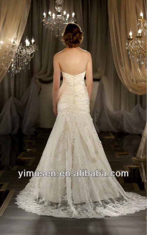 Spanish Flare Wedding Dresses