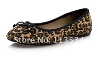 Водонепроницаемые мокасины для женщин 2012 autumn women shoes, flat boat shoes women, 2012 spring womens flats, 1pair leopard womans shoes