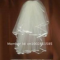Свадебная фата 2011 new popular classic bridal veils white&ivory 10pic/lot