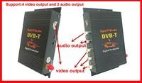 Специализированный магазин New! Car Mobile HD DVBT Receiver digital TV Car TV receiver Car TV Tuner support mpeg2