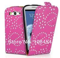 Чехол для для мобильных телефонов For galaxy s3 case, Diamond bling flip leather case cover for Samsung Galaxy S3 III i9300, Worldwide