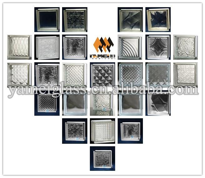 Wholesale decorative glass block with round hole buy - Pared de bloques de vidrio ...