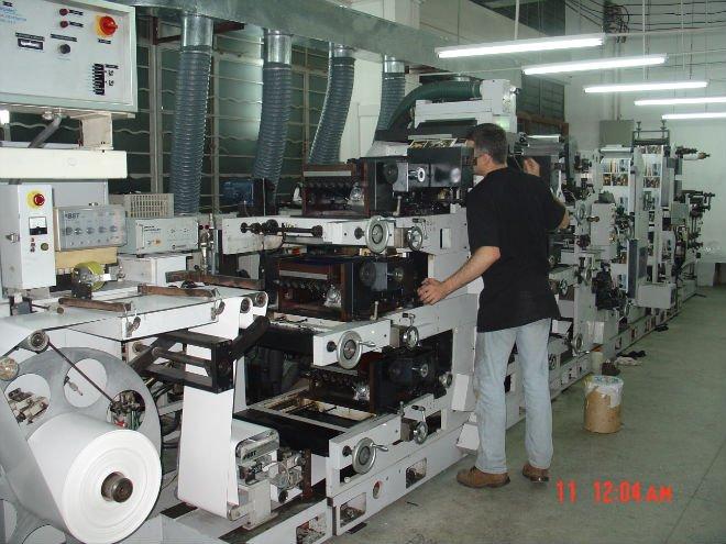 label adhesive paper pre-printing