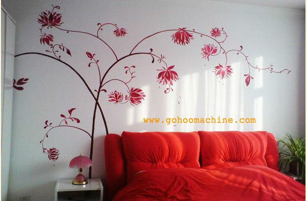 Wall Printing Fabric Painting