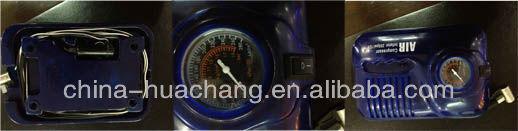12V air compressor with gauge
