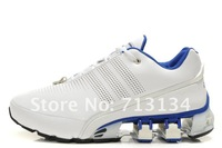 Free shipping P5000 I design bounce Shoes Running shoes white/blue New with tag Men shoes
