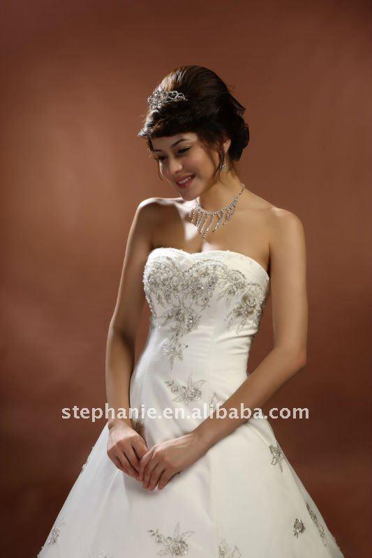Model Wedding Photos Model Wedding Dress--a6174
