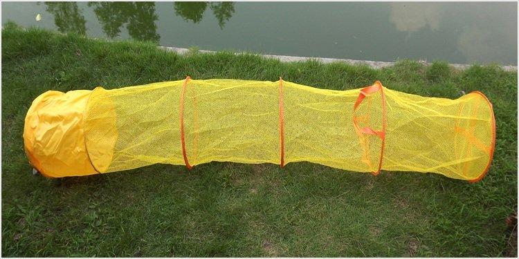 установка рыболовной сети на резинке