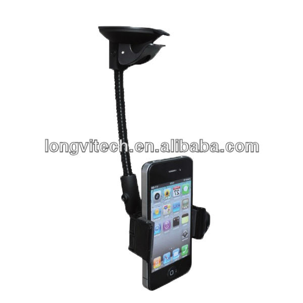 12 months warranty customized windshield funny cell phone holder for desk (HC-21C)
