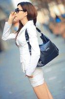 Женский брючный костюм White fashion bow slim long sleeve lady suit LM1615