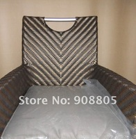 V rattan furniture outdoor chair