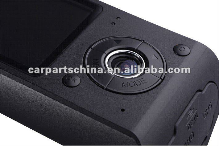 X3000: 2ch Car Black box GPS Sensor car dvr gps dual camera
