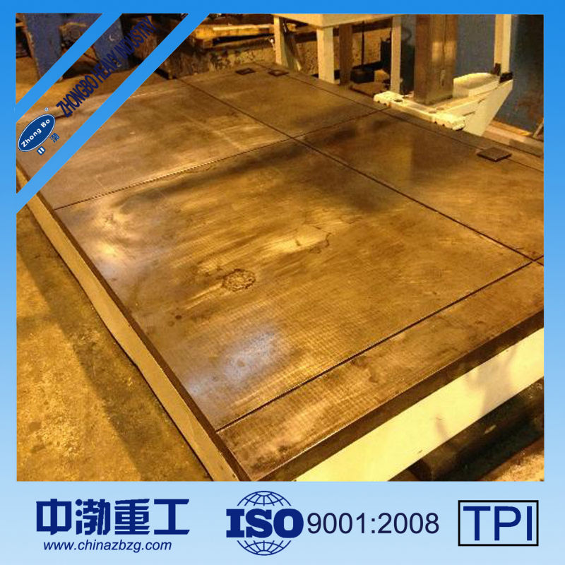 Surface Plate Drawing t Slot Surface Plate