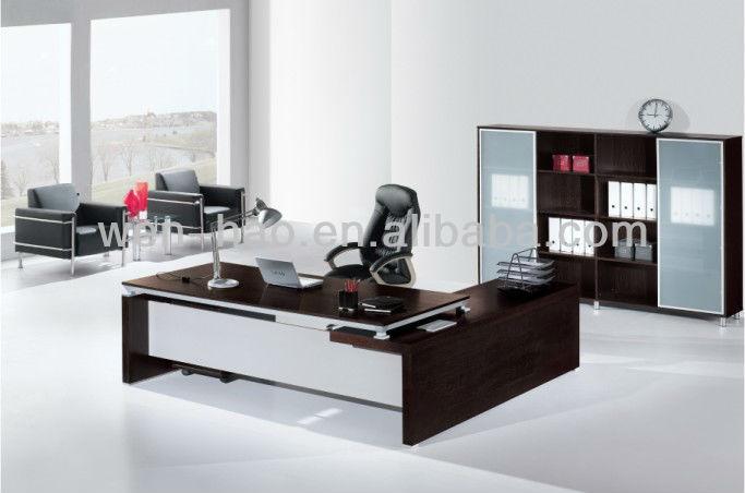 moderno mdf escritorio de oficina v 306 de alta calidad de muebles de