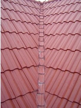 kerala steel gray clay roof tile