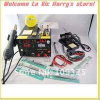 Устройство для сушки струёй горячего воздуха 3310 saike 909D rework station hot air gun soldering station with power 3 in 1 220V or 110V 700W