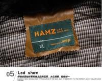 Мужские изделия из кожи и замши HAMZ , downleisurely : XXXL/185/100 23K2291