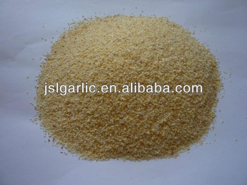 2014 crop white dehydrated garlic granules