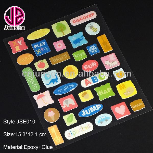 Timing silicon sticker