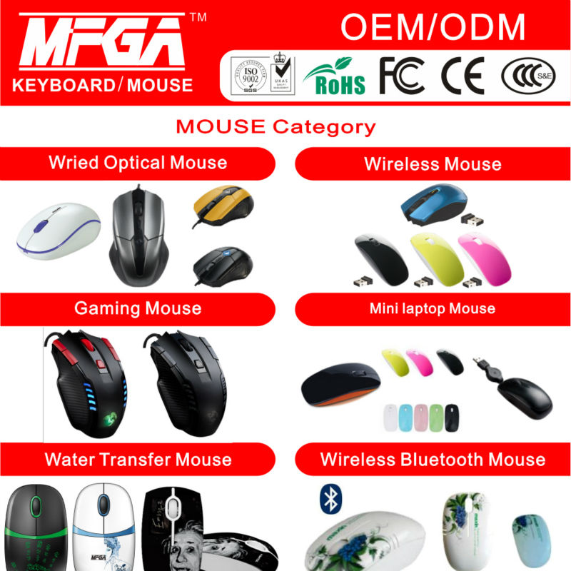 2.4ghz wireless mouse with micro-receiver