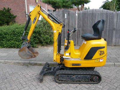JCB 8008 micro mini excavator, 93783