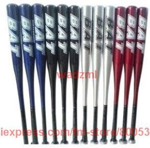 baseball bats aluminium alloy baseball bat sports 28 inch mixed color 50pcs/lot DHL free shipping