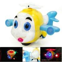 Детское электронное домашнее животное Electronic Cartoon Fish with light and music, plastic toys for kids