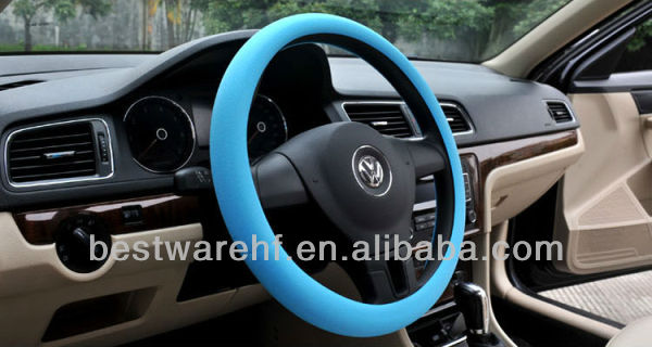 Hot sale heated Universal silicone steering wheel covers / shell /case
