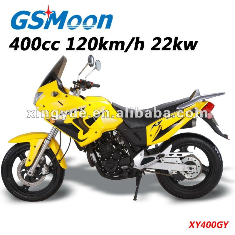 Powerful china 400cc EEC EPA sport motorcycle