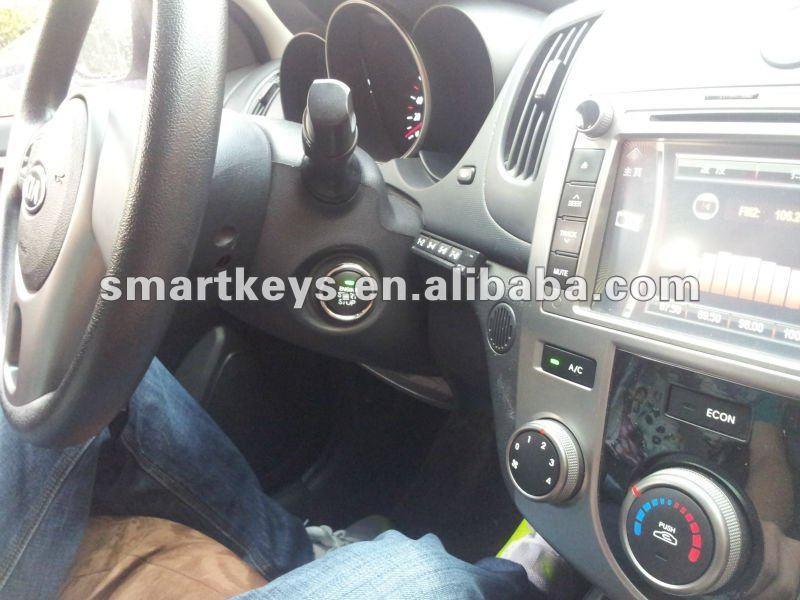 Sistema de segurança alarme de carro pode ônibus alarme de carro inteligente botão de iniciar o controle remoto para Mitsubishi Pajero