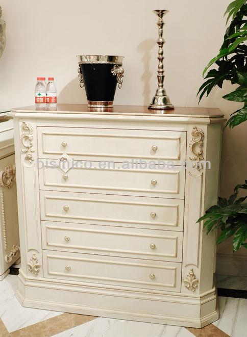 En bois blanc armoire luxe en bois armoire sculpt Differents styles de meubles