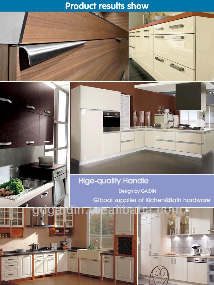 Porte pour fen tre d 39 armoires de cuisine pas cher bord en aluminium poign - Bouton de porte de cuisine pas cher ...