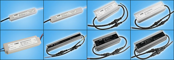 Waterproof LED Power Supply Series 40W 350/500/700/900/1050/1400ma Constant Current type 90-264vdc Power Supply YSHC-40-700