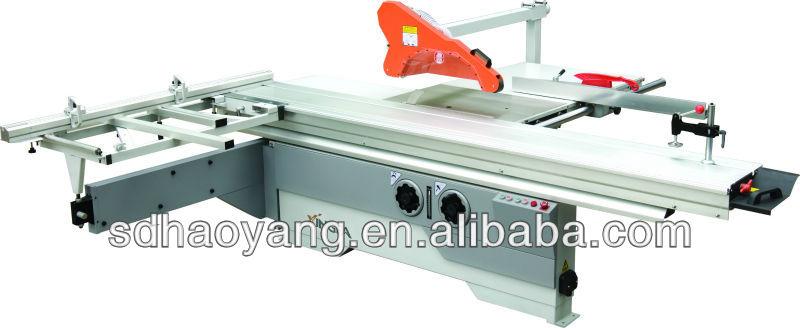 Digital control panel saw of woodworking machine