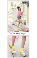 Женские кеды 3 Colors . . Best Selling PU Angle Wings Women Fashion Shoes . Retail