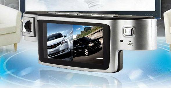 HD Dual Camera Car Camera X9000