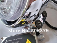 Фары для мотоциклов Motorcycle headlight assembly Kits with Bi-Xenon HID Projector Lens LED Angle Eyes