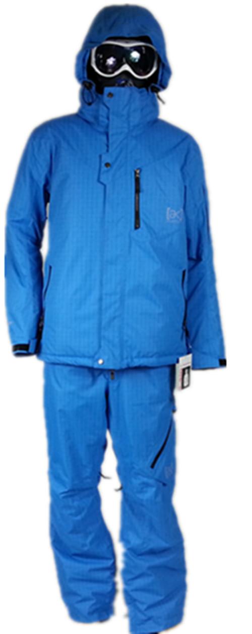 Новый Бертон костюм человек лыжные куртки сноуборд куртка и брюки, зимний спорт на открытом воздухе водонепроницаемый теплые тепловой