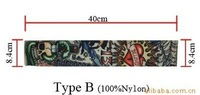 10pcs(5pairs) FREE SHIPPING mixed 5 Styles Fashion Novelty Tattoo Sleeves Body  Tattoo Stocking Supply Jewelry