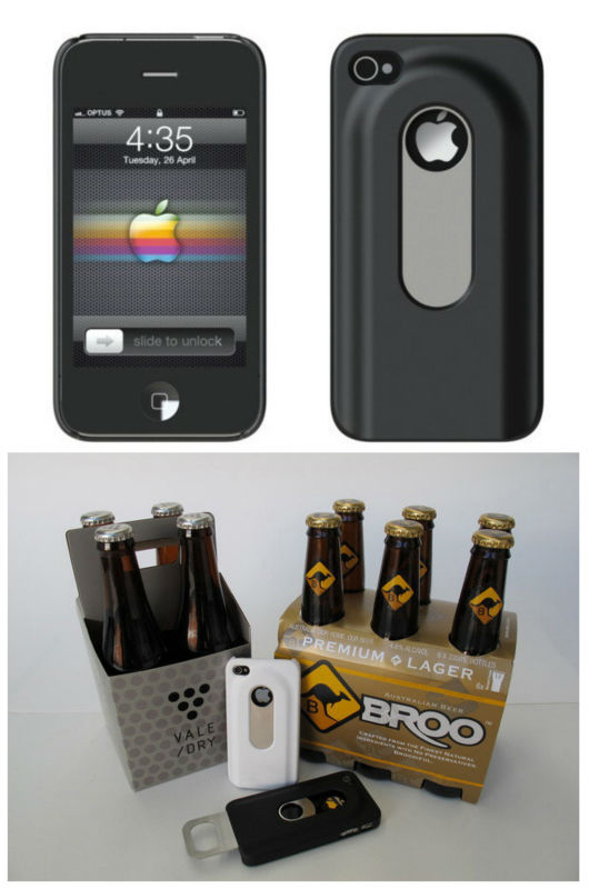 wine front opening aluminum case for iphone 4 4s 5
