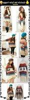 wholesale,lowest price!!collar knitwear,weave sweater, women clothes, christmas women lovely deer long sweater (NXL006-3)