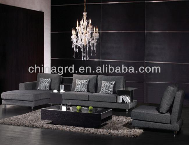 Em-853 mode dessins canapé meubles indiens