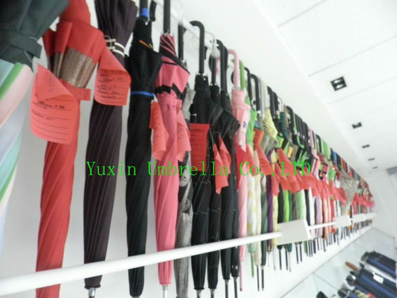 2013 fashion auto 3 sections golf umbrella with double layer