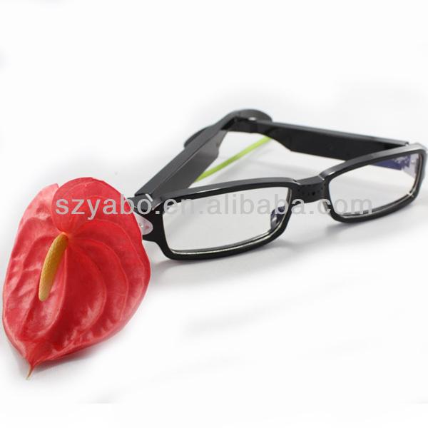 Più nuovo stile 1280*720p hd fotocamera occhiali occhiali wireless telecamera nascosta occhiali di sicurezza