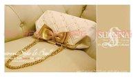 New Fashion Women's bag leather Handbag elegant office with bow nice Shoulder bag A310