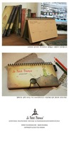 Ежедневник prince weekly schedule notebook make plan kraft paper little diary gift say hi 5pcs/lot CP 0724