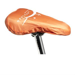 0.13mm PVC sheeting waterproof bike seat cover with elastic band closure