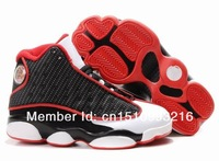 NEW Mens Athletic Shoes Retro J13 XIII Retro Bred Black Red Neutral Grey Basketball Shoes JD Sneakers