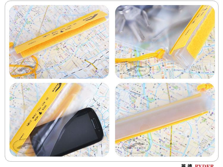PVC Large Waterproof Mobile Phone Bag